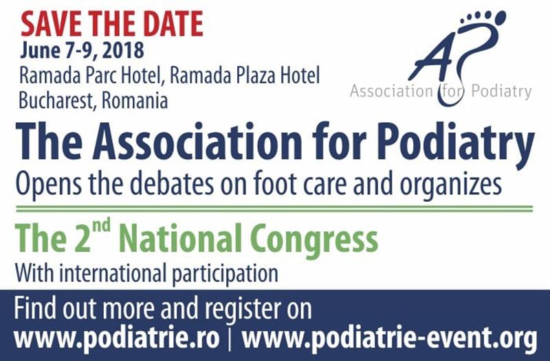 Al II-lea Congres Național al Asociației de Podiatrie