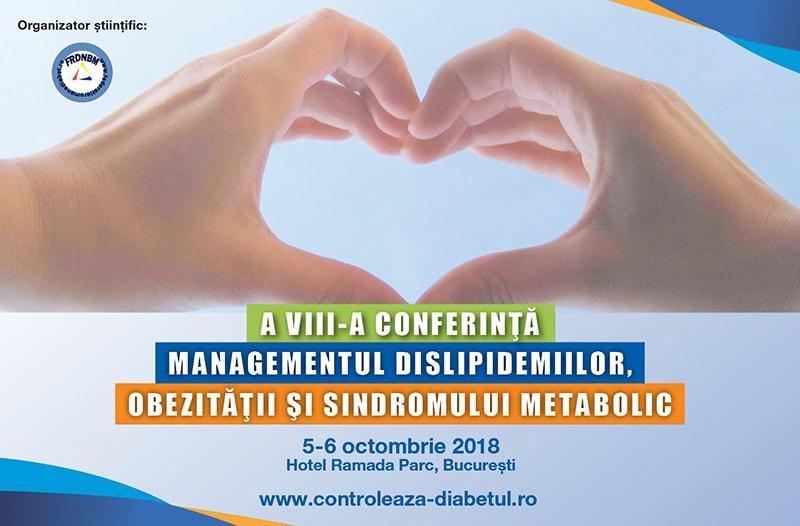 Conferința Managementul Dislipidemiilor, Obezității și Sindromului Metabolic